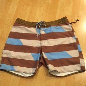 PAUL FRANK swim shorts, drawstring, Size 36